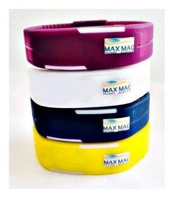 Pulseira Magnética Maxmag Original C/2 Infra Verm + 2 Imãs