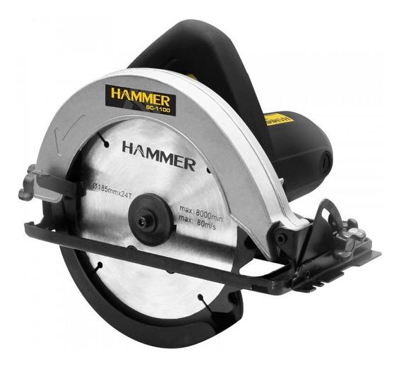 Serra Circular Hammer Para Madeira 7.1/4 1100w 110v Sc-1100