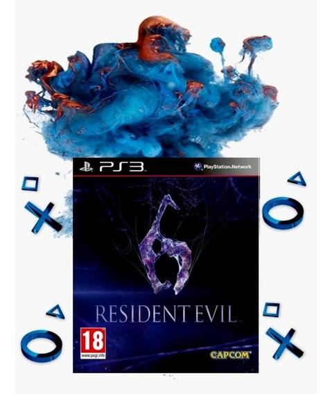 Resident Evil 6 Playstation 3 Ps3 Envio Rápido Economize