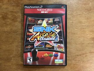 Snk Arcade Classics Vol. 1 Para Playstation 2 / Ps2
