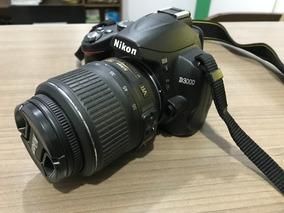 Câmera Nikon D3000 + Lente 18-55mm + Case + Tripé Na Caixa