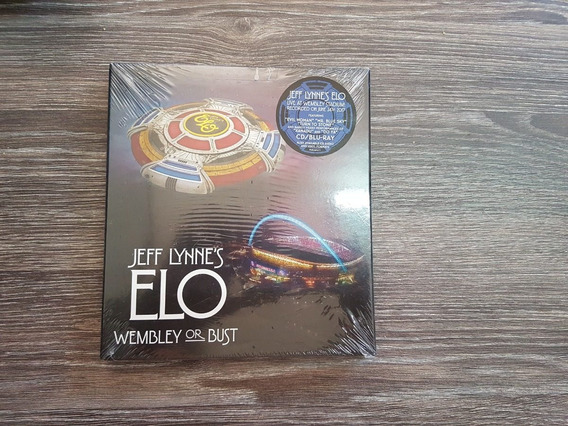 Jeff Lynne (e.l.o) - Wembley Or Bust - Blu Ray + 2 Cds, Lacr