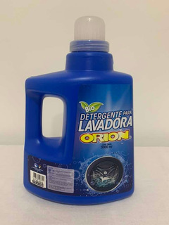 Detergente Para Lavadora Orion En Galón X 3.000 Ml