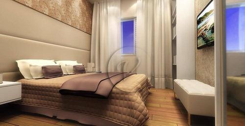 Apartamento Com 2 Dormitórios , 59m - Santo André/sp - Ap10160