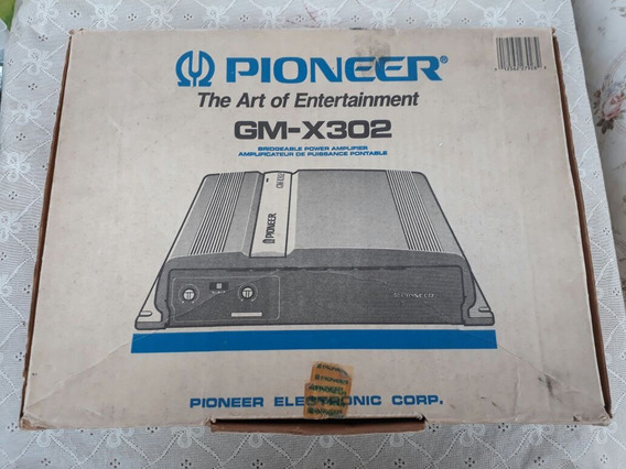 Modulo Pioneer Gm X302 Zero! Na Caixa Sem Uso! Raridade