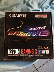 Placa Mãe Gigabyte H270m Gaming 3