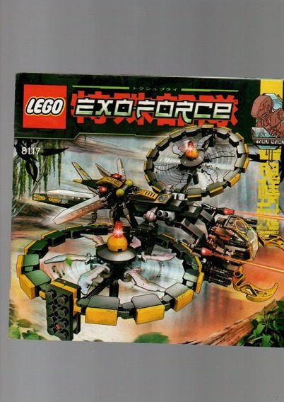 2 Revistas Manual Lego Exo Force 8117 E Creator 4995 (a5258)