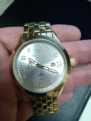 Imagem 1 de 2 de Vendo Um Relógio Technos Golf Seminovo Com Pouco Uso.