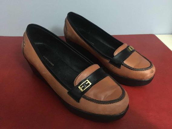 Zapatos Mocasin Ferraro En Excelente Estado