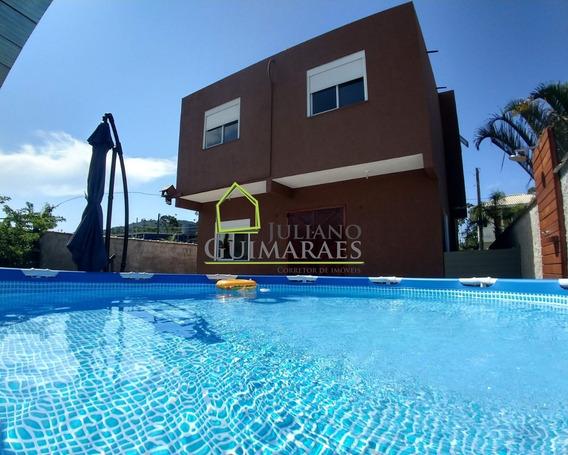 Ótima Casa Em Rua Calçada Residencial À Venda, Rio Vermelho, Florianópolis. - Ca00147 - 33617520