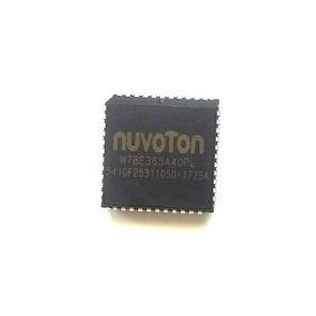 W78e365a40pl Ic Mcu 8bit 64kb Flash 44plcc # Kit C/ 3 Peças
