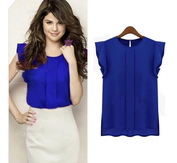 Blusa Azul Talla M