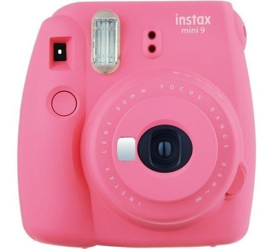 Fujifilm Instax Mini 9 - Foto Instantânea - Rosa Flamingo