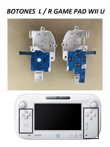 Botones Wii U L Y R Disponibles!!!!