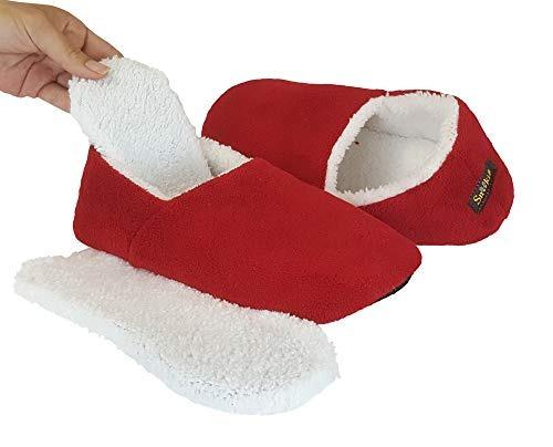 Snookiz Microwaveable Heated Slippers For Women