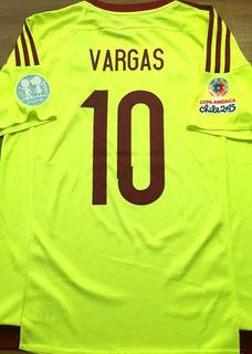 Camisa Da Venezuela Copa América 2015 Vargas #10