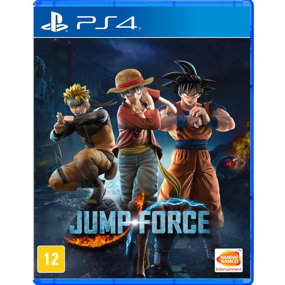 Jump Force - Mídia Física - Ps4 - Novo