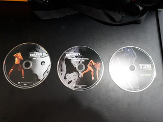 Lote 3 Dvd Insanity Beachbody Max Recovery Cardio Abs Focus