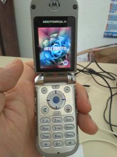 Celular Motorola V810 Colecionador
