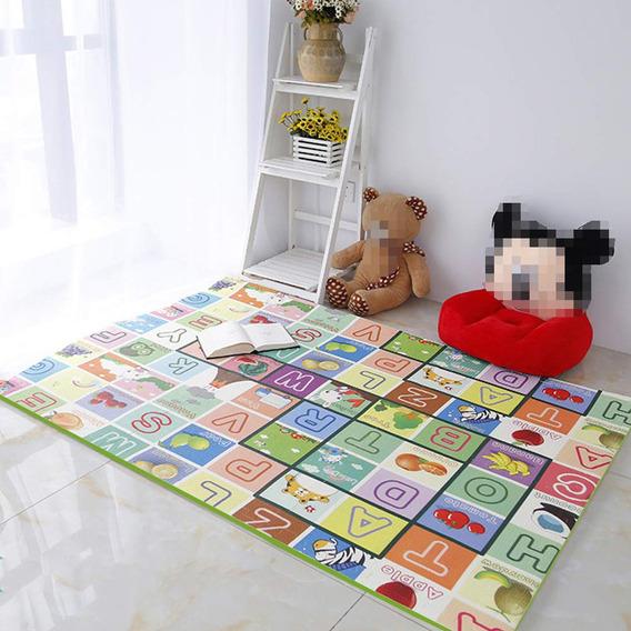 Tapete Colchoneta Didáctico Bebé Play Mat Multiusos 1.8x1.5m