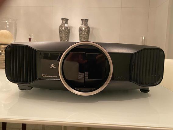 Projetor Epson 6020ub Full Hd 3d + 4 Óculos 3d