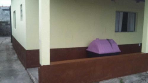 Ótima Casa Lado Praia E Escriturada Em Itanhaém - 6323   Npc