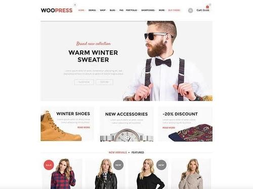 Site Ecommerce Wordpress