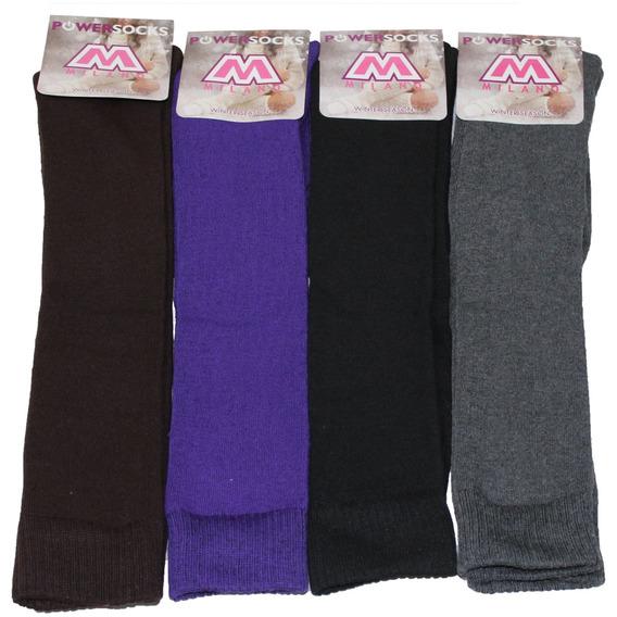 Calcetines Largos Para Botas De Mujer - Precio X 3 Pares