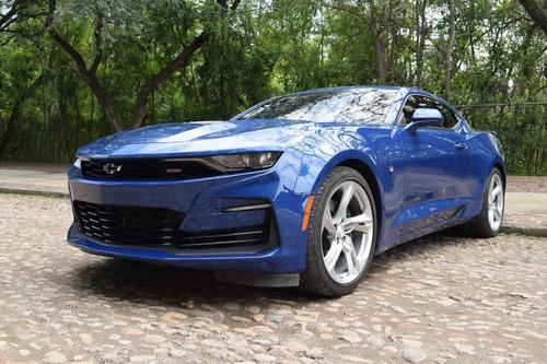 Imagen 1 de 13 de Chevrolet Camaro Ss, Ta, Azul 2021