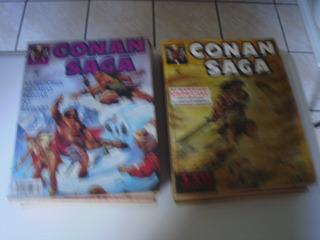Conan Saga 1 A 17 Completa Ed Abril 1993 A 1997