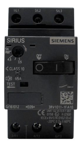 Guardamotor Siemens 3.5-5.0 Amp 220/440v 3rv1011-1fa10