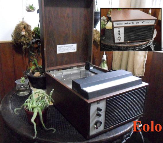 Gravador Repr. 3m Cantata 700 Colecionador Ñ Akai Revox &
