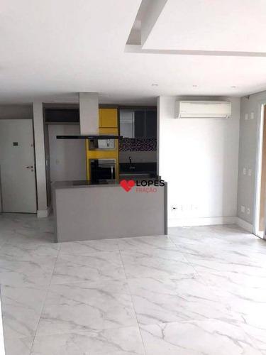 Imagem 1 de 25 de Apartamento Com 2 Dormitórios, 90 M² - Venda Por R$ 1.190.000,00 Ou Aluguel Por R$ 5.900,00/mês - Tatuapé - São Paulo/sp - Ap2330