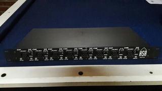 Preamplificador De 8 Microfonos Balanceados Con Phantom Powe