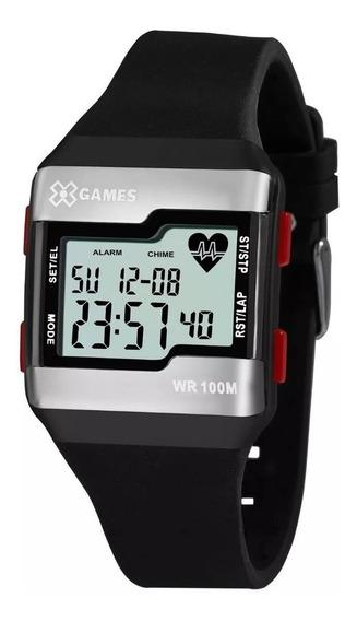 Relógio X-games Masculino Digital Xgppd144 Bxpx Cardiaco