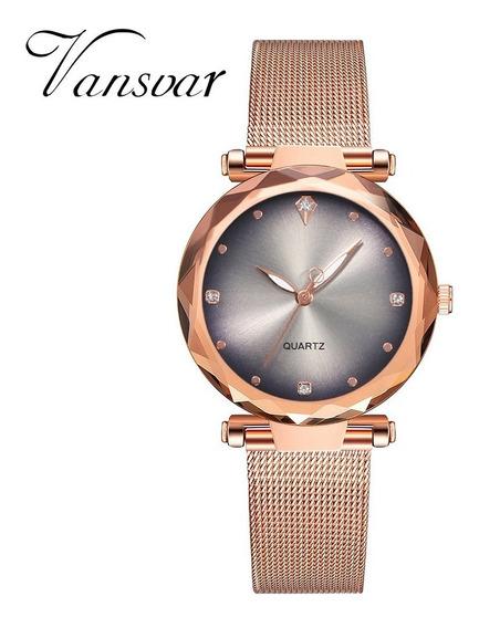 Relógios Feminino Vansvar Original Para Mulheres Inteligente