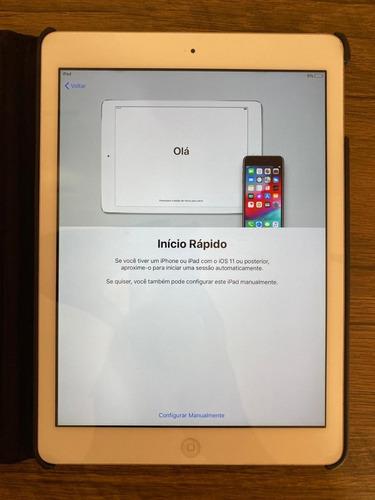iPad Air Wi-fi 32gb Prata Model A1474 Md789br/a - Usado
