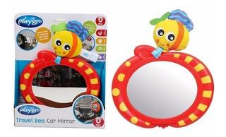 Espejo De Seguridad Para Bebé 3 En 1 Auto O Cuna Playgro