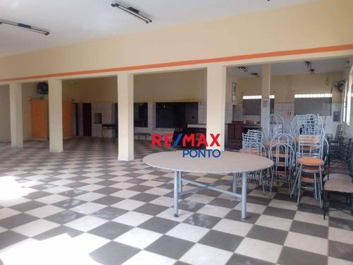 Salão Para Alugar, 150 M² Por R$ 5.000,00/mês - Santa Cruz - Mogi Mirim/sp - Sl0019