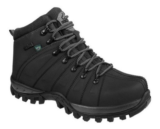 Sapato Nobuck Cadarço Emborrachado 40 Grafite Ca0001-eb06/4