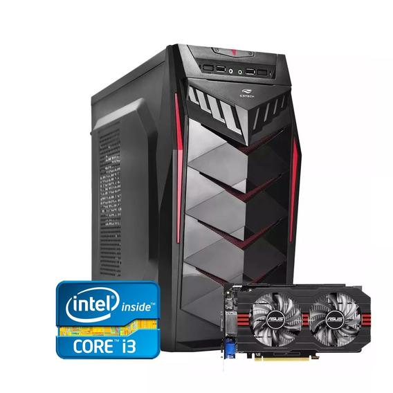 Pc Gamer Core I3 + Gtx 750ti 2gb + 4gb Memória + Ssd 120gb