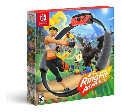 Imagen 1 de 5 de Ring Fit Adventure - Nintendo Switch