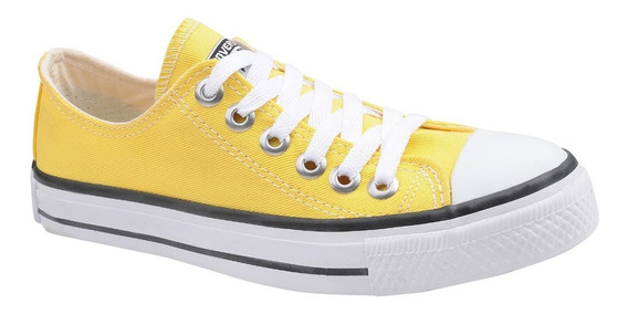 Tênis Converse All Star Chuck Taylor Cano Baixo Amarelo