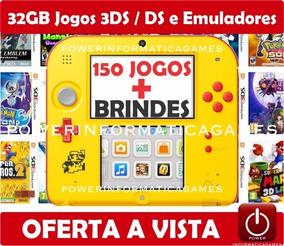 Nintendo 2ds + 150 Jogos + 32gb + 3ds & Ds + Emuladores