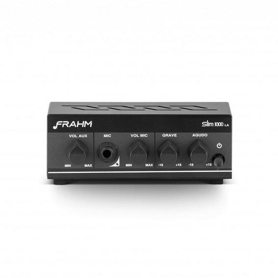Amplificador Multiuso Frahm Slim 1000 La - Bivolt 40w Aux