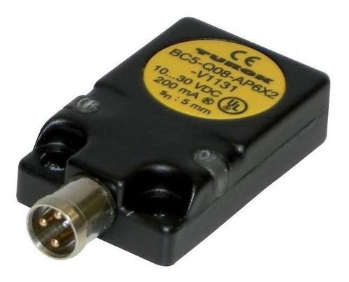 Imagen 1 de 3 de Turck Bc5-q08-ap6x2-v1131/s250 Sensor Capacitivo