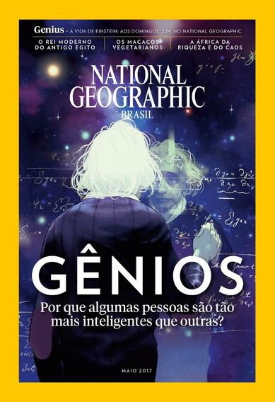 National Geographic Brasil - Gênios Maio 17 Novo
