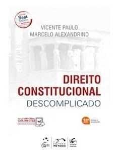 Direito Constitucional Descomplicado 18ed 2019