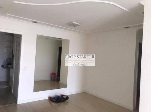 Imagem 1 de 30 de Apartamento Com 3 Dormitórios Para Alugar, 101 M² Por R$ 3.700/mês - Ipiranga - Propstarter - Ap0946