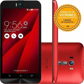 Asus Zenfone Selfie Zd551kl 32gb/3 13mp Vermelho Vitrine 3